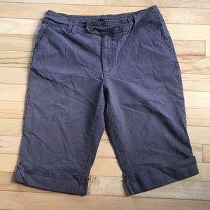 Woman's brown Bermuda Shorts.  Size 10